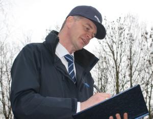 Sales Engineer at work | written scheme of examination | air equipment