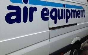 Air Equipment van | about us | air equipment