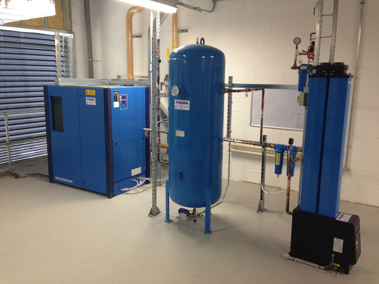 Compressor Installation Air Equipment