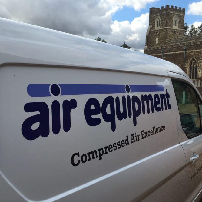 Air Equipment Van | Air Compressor | Air Equipment