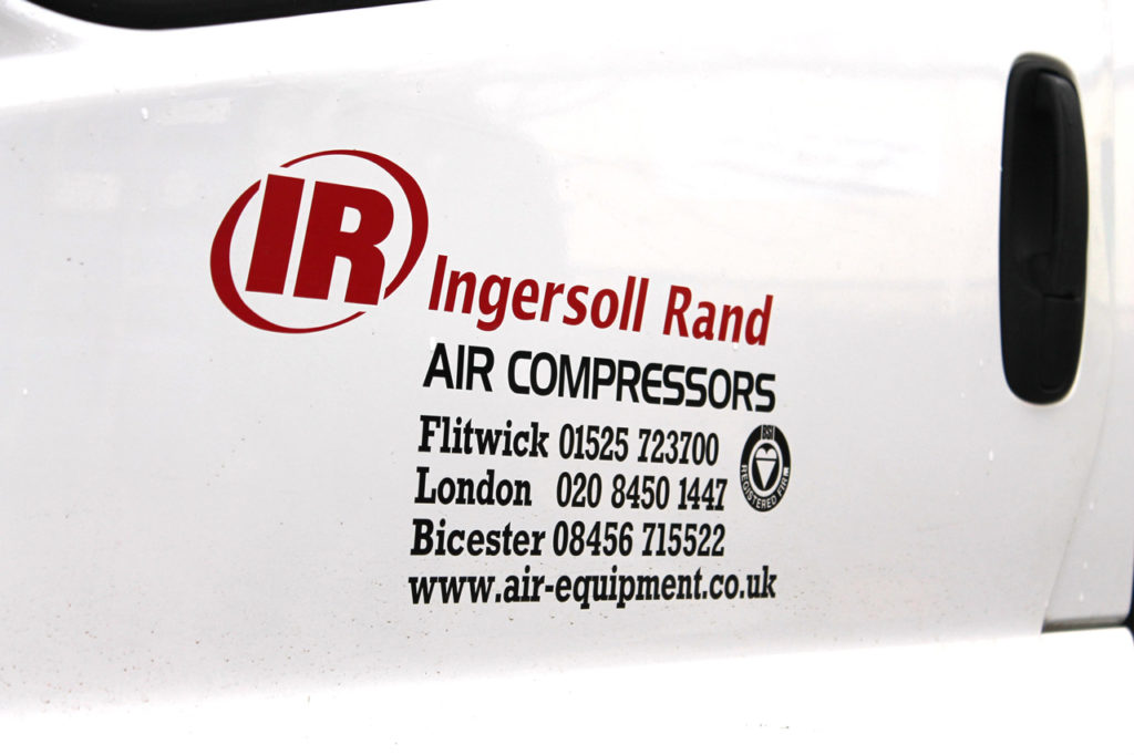 Air Equipment Van | Air Compressor in Suffolk | Air Equipment