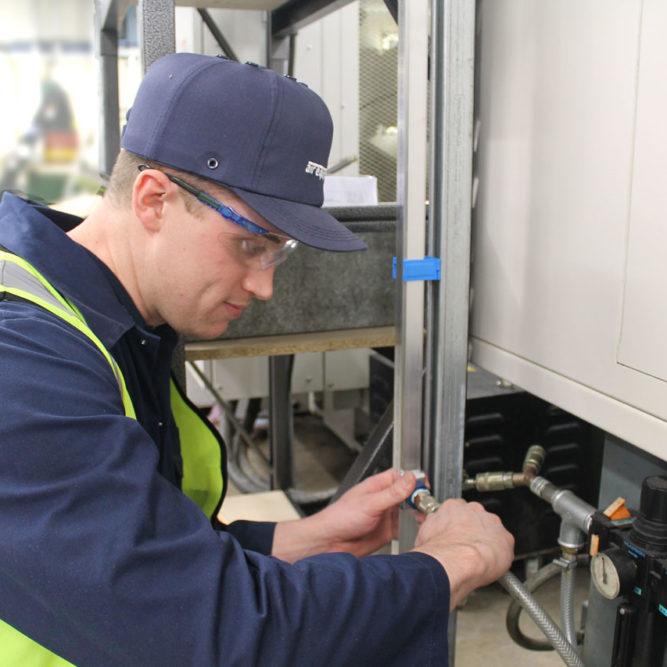 Air Compressor Installation engineer | Air Equipment