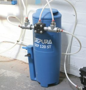 condensate separator and condensate recovery| Air Equipment