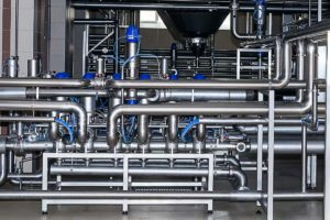 Stainless steel pipework | Food and beverage industry | Air Equipment
