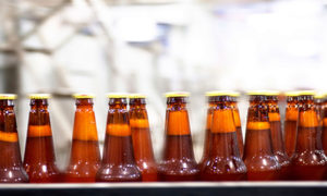 beer bottles during manufacturing | air compressors | air equipment
