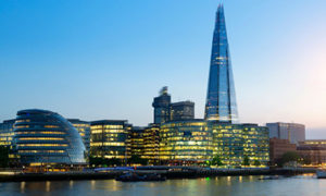 London skyline and the shard | air compressors | air equipment