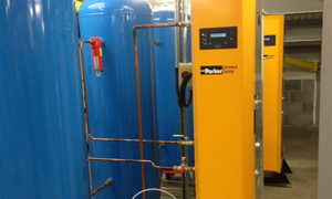 Parker dryers in a compressed air system | air compressors | air equipment
