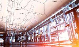 Pipework sketch | air compressors | air equipment