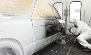 Paint spraying a car | air compressors | air equipment