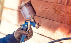 spraying wood finisher | air compressors | air equipment