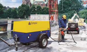 CompAir portable C76 | Air Compressor | Air Equipment