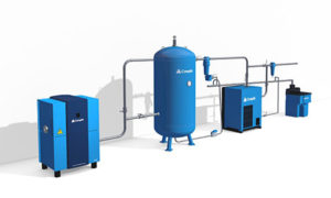CompAir Compressed air system layout | air compressors | air equipment