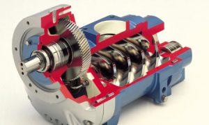 Cutaway air end | Compressed air | air equipment